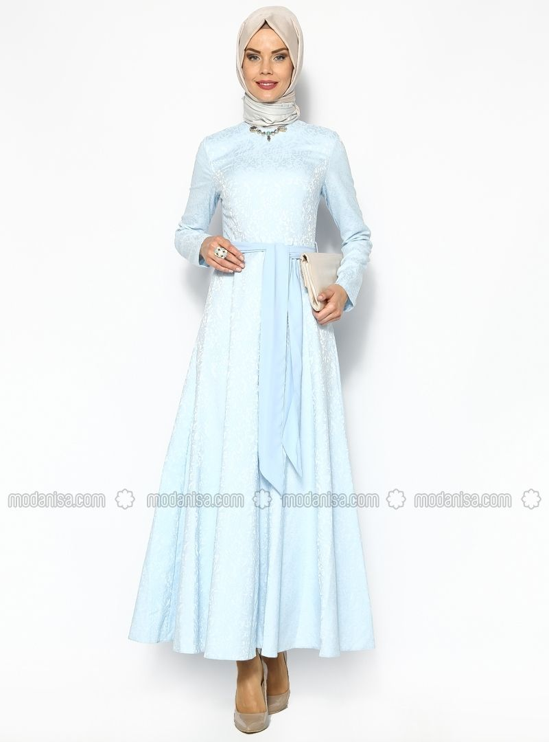 Jacquard dress blue etrucci wedding dress idea pinterest