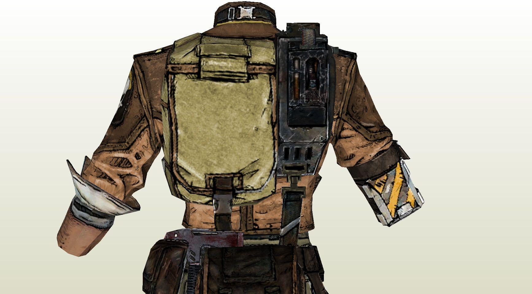 Borderlands 2 axton cosplay