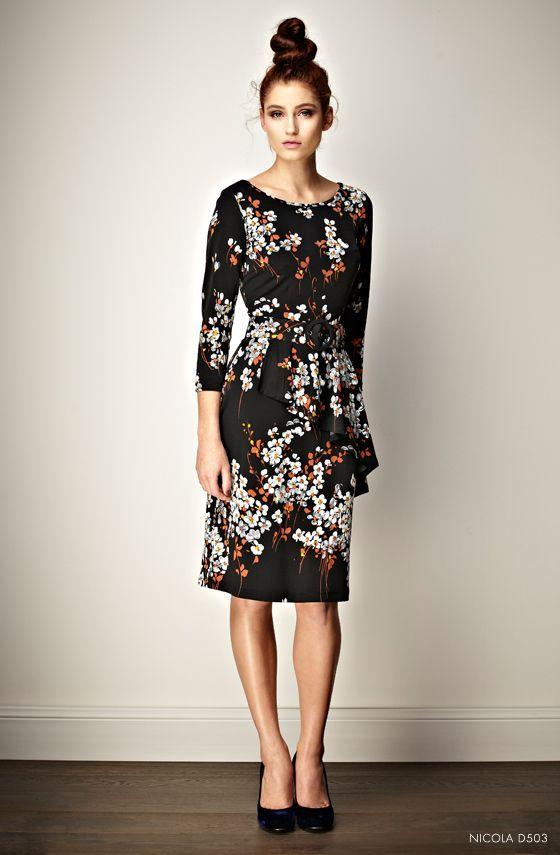 92cadad8c7 Leona Edmiston - lovely dress and the messy hair knot | Fashion ...