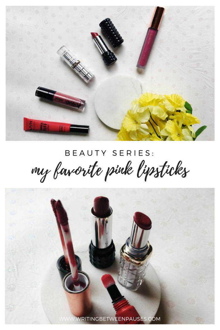 Photo of Beauty Series: My Favorite Pink Lipsticks — Michelle Locke