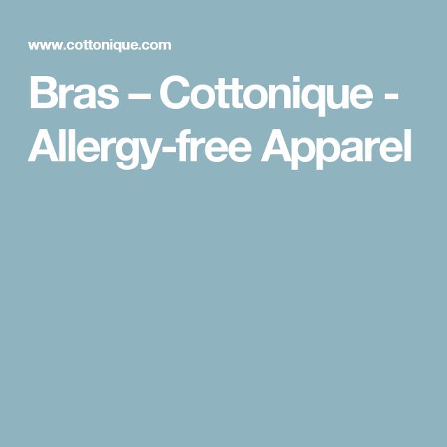 8cbe6320d0c00 Bras – Cottonique - Allergy-free Apparel