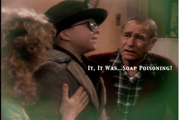 soap poisoning a christmas story
