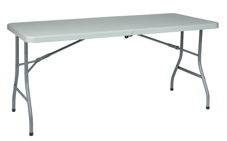 Office folding tables office star work smart btfqw u resin multi purpose center fold