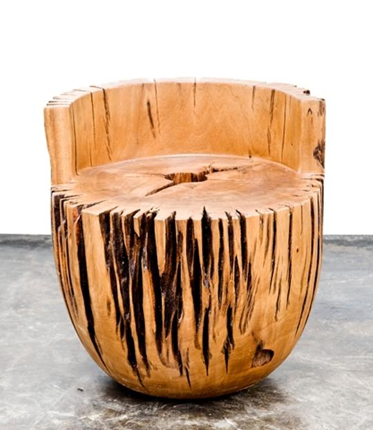 Kinsella Coffee Table: Reclaimed Wood (Gimbya Chair) By Hugo Franca