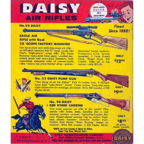 Sporting Goods Daisy Eagle Model 98 Air Rifle Hang Tag Reproduction For Bb Gun Plymouth Mi Sale Price