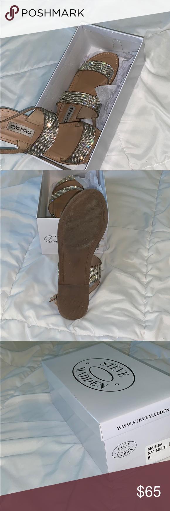 30c3c75002b Steve Madden diamond sandals Steve Madden diamond sandals , size 8 ...
