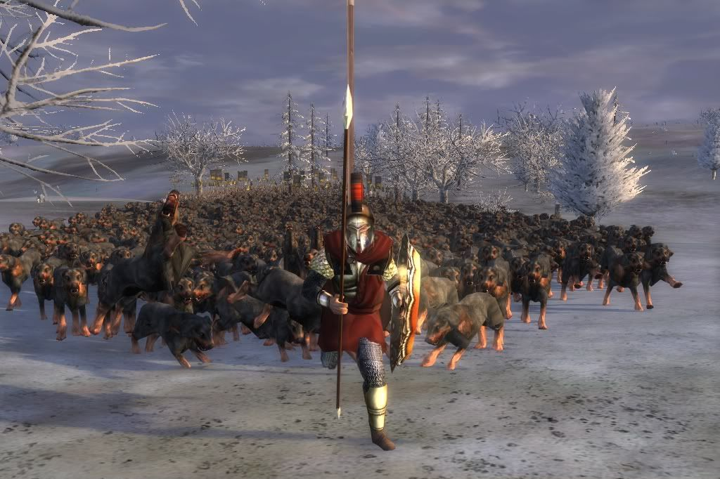 Medieval Total War 2 Kingdoms: Thera  Run away run away | Total war