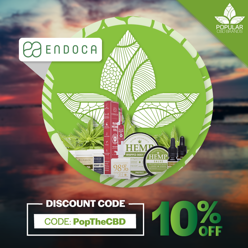 Maintain a clear mind and active lifestyle with Endoca™ CBD