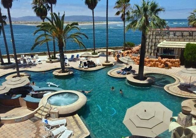 Just Another Chill Monday In Ensenada This Is The Estero Beach Hotel Resort