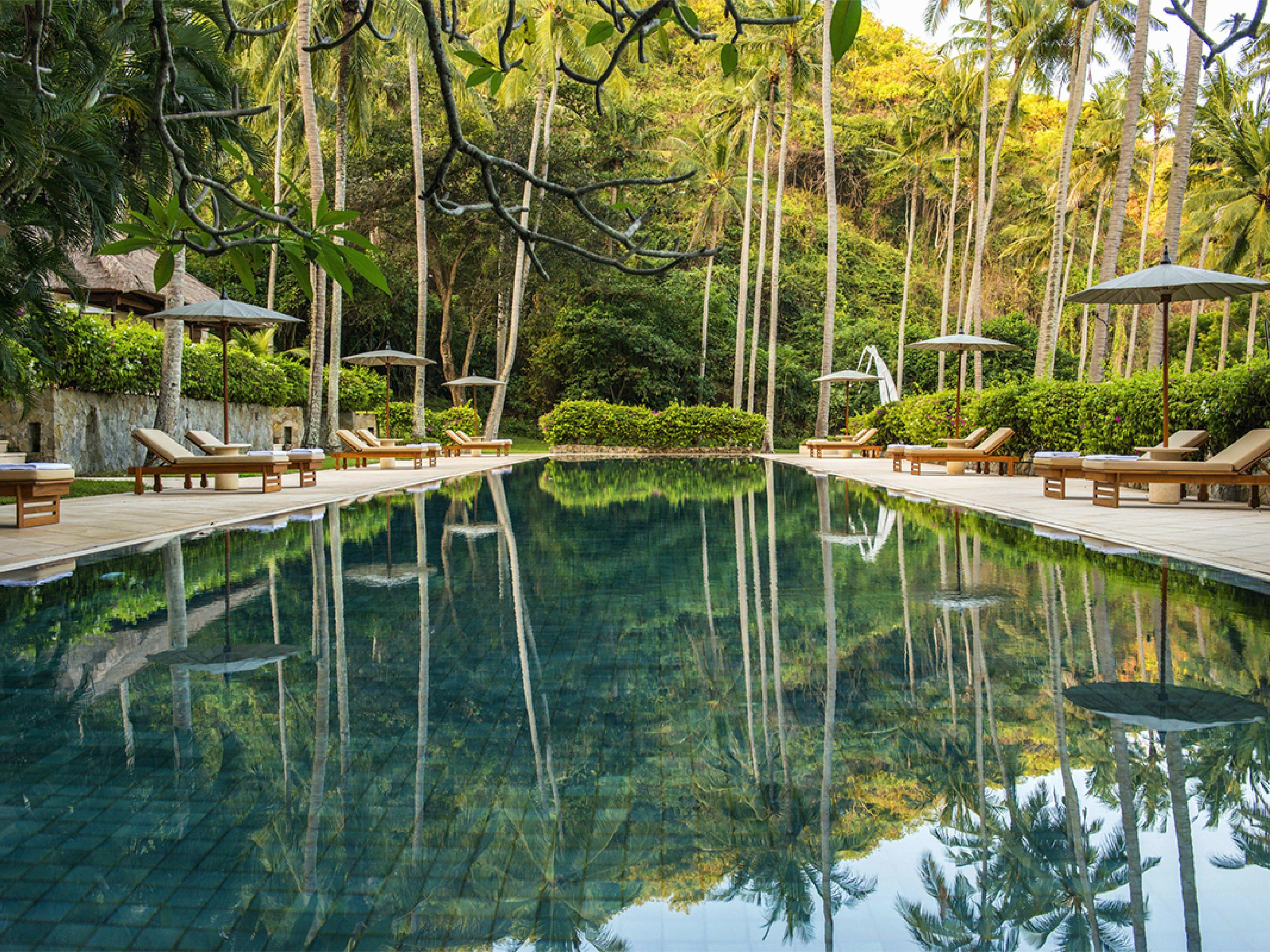 50 Gorgeous Aquascape Okc Outdoor Swimming Pool Ideas Bali Resort Luxury Hotels Bali Most Luxurious Hotels