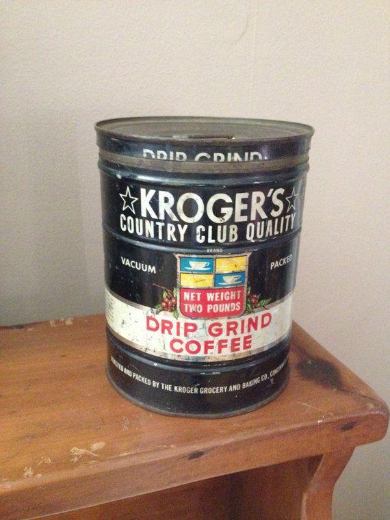 Kroger's Country Club Quality Coffee