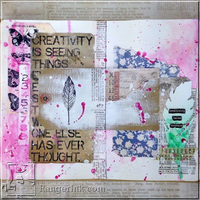 Creativity Art Journal Layout By Bobbi Smith With Images Art Journal Creative Art Creative Journal