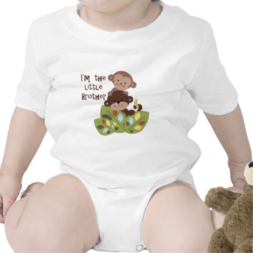 Little Brother Monkeys Shirt