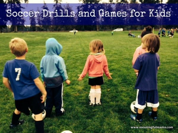 Beginning Soccer Drills Meaningfulmama Com Soccer Drills Soccer Drills For Kids Soccer Drills For Beginners