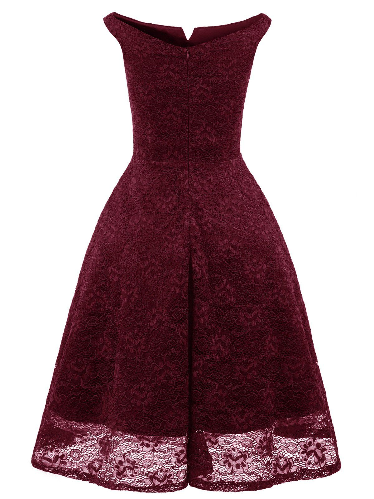 79d78e4a7cfa 1950s Lace Floral Swing Dress – Retro Stage - Chic Vintage Dresses and  Accessories