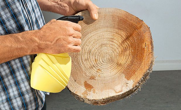 Basteln mit Baumscheiben #holzscheibendeko