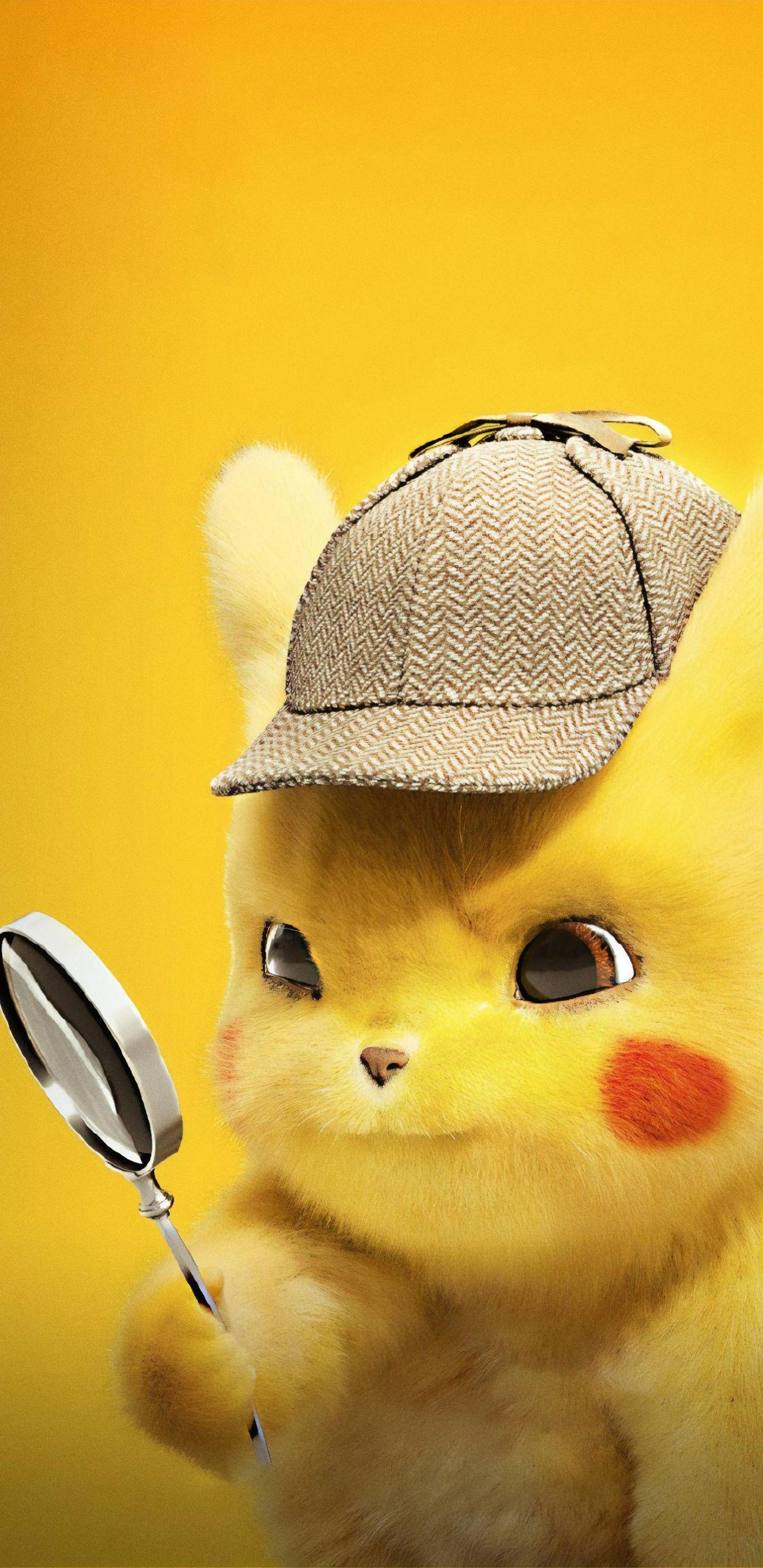 Pokemon Detective Pikachu Wallpaper Iphone Pikachu Pokemon Detective