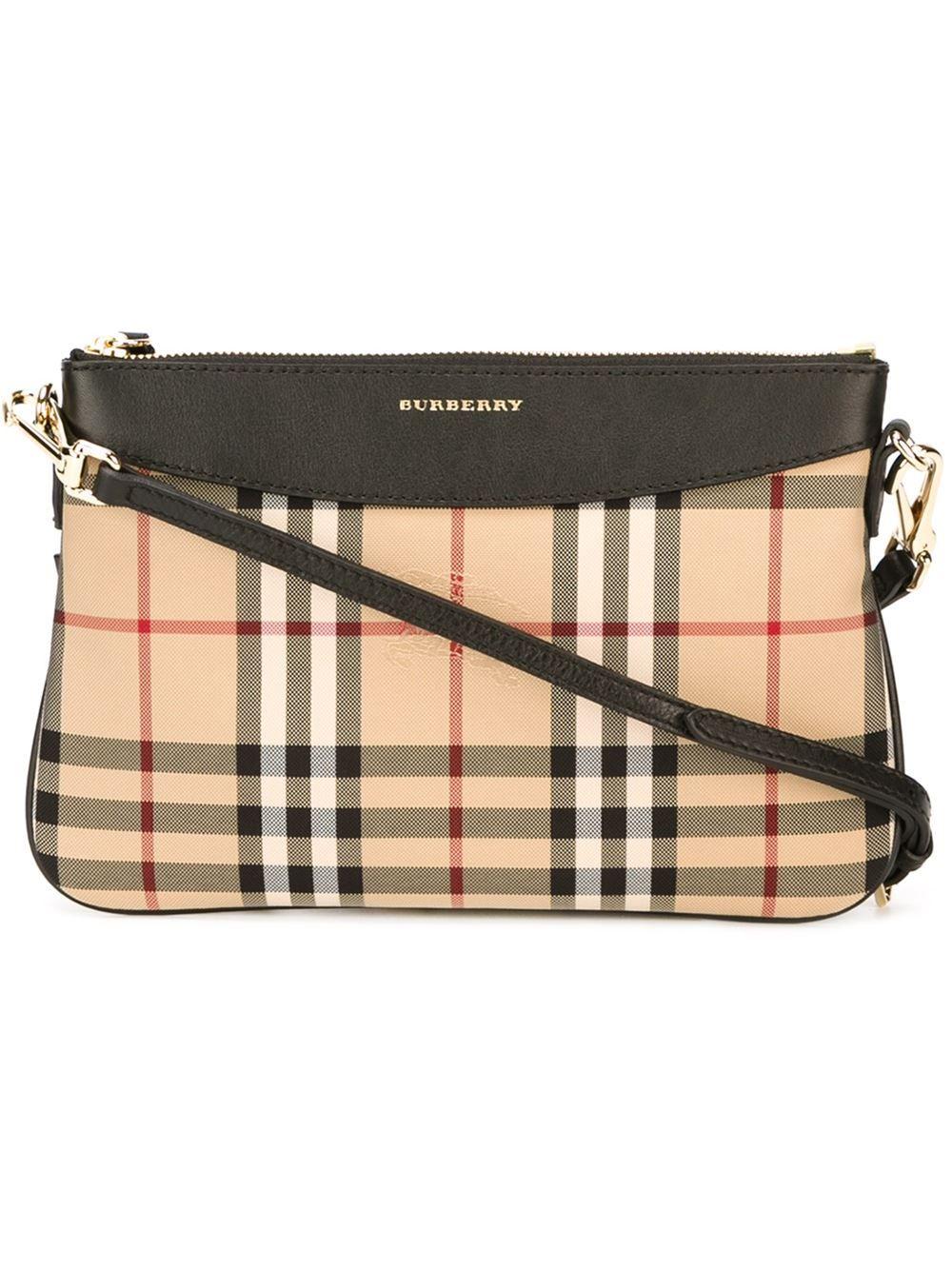 aba0f11e5718 Burberry Horseferry check crossbody bag
