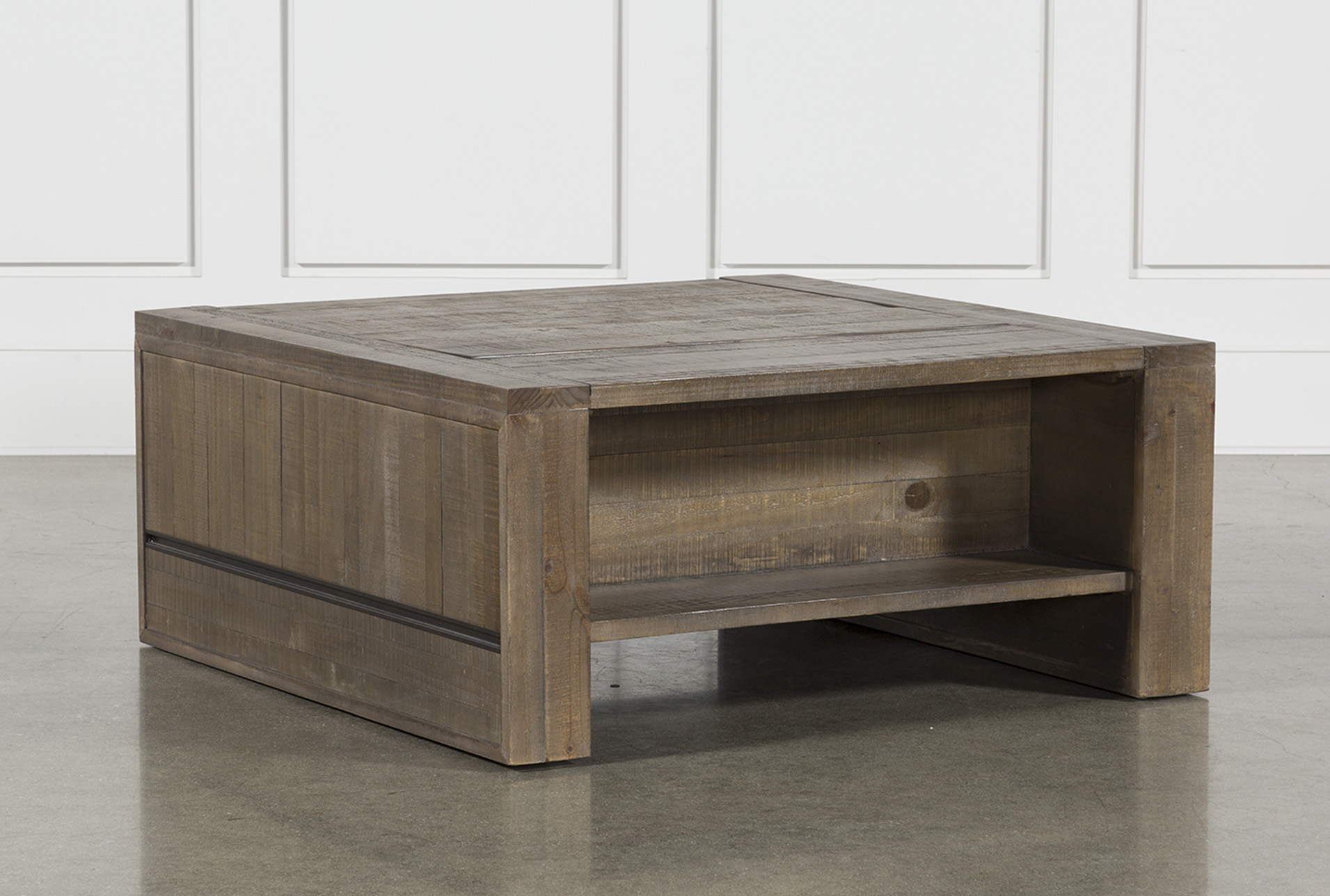 - Lassen Square Lift-Top Coffee Table Coffee Table Living Spaces