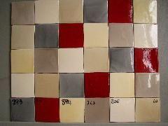 Carrelage Cuisine 10x10 Gris Rouge Beige Patchwork Carrelage Cuisine Cuisine 10x10 Carrelage Mural Cuisine