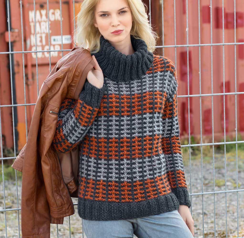 лиловый свитер спицы схема