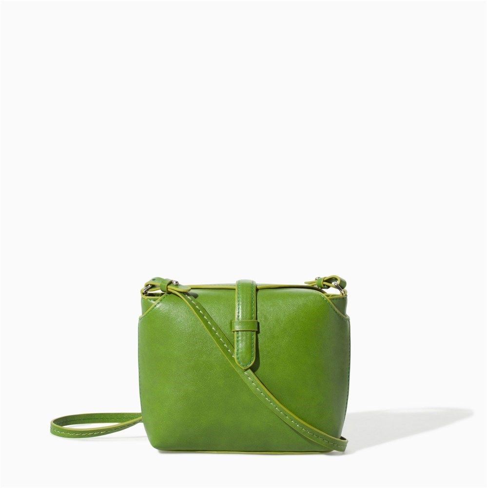 Bolso verde manzana