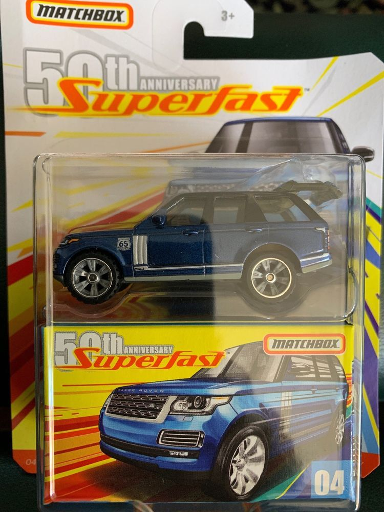 Details about 2019 Matchbox Superfast 04 2018 Range Rover