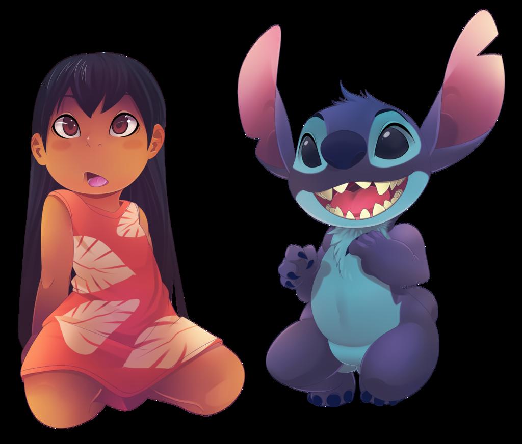 Lilo And Stitch by Ben Diez [©2014]   Lilo & Stitch (2002-2005 ...