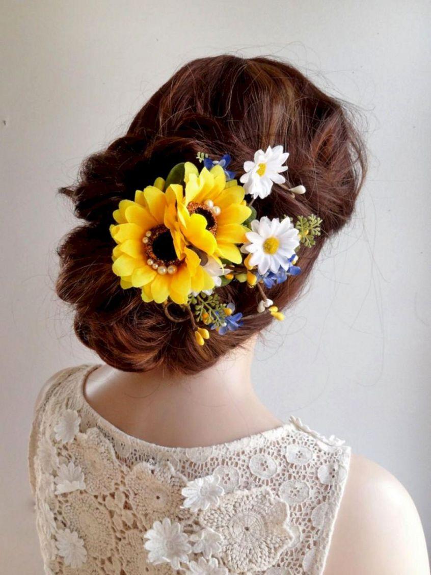 40 best sunflower crown design ideas for amazing wedding