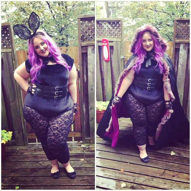 Spooky  bunny Halloween  costume! Complete with gorgeous  pastel  purple  hair. ec0dd3781