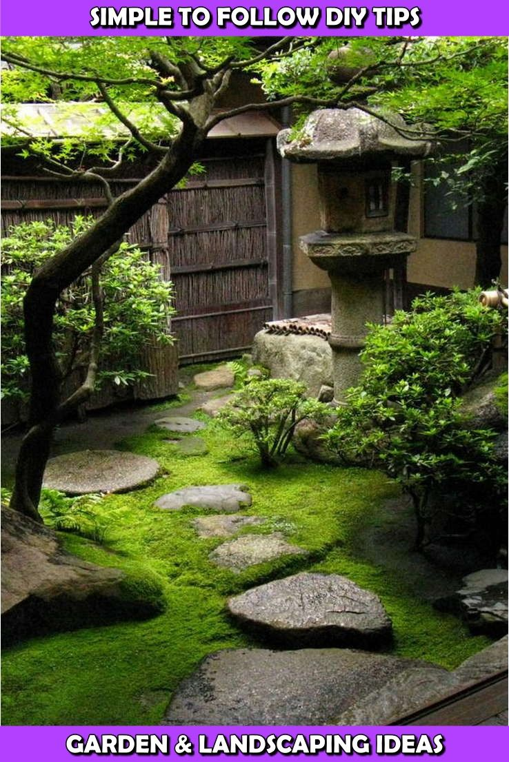 How You Can Clear Your Lawn Of Pesky Weeds Japanese Garden Backyard Small Japanese Garden Zen Garden Design