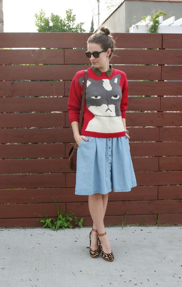 http://www.style-extraordinaire.com/2011/11/fat-cat-sweater.html An amazing sweater!