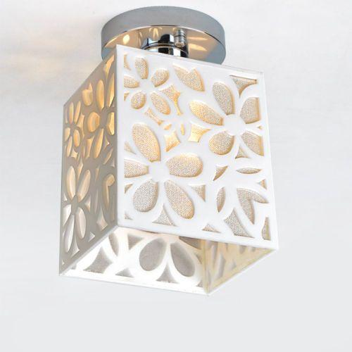 13cm Modern 7w Led Ceiling Light Down Lamp Acrylic Hollow Fixture Lighting Ebay Luzes Decorativas Lustre De Madeira Luminarias De Teto