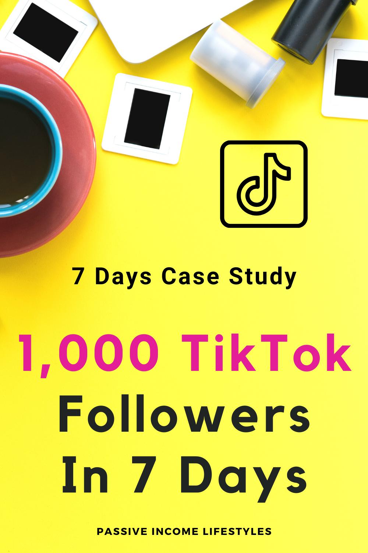 1k Tiktok Followers In 7 Days Case Study Day 1 How To Get 1000 Followers On Tiktok Network Marketing Business Network Marketing Affiliate Marketing Strategy