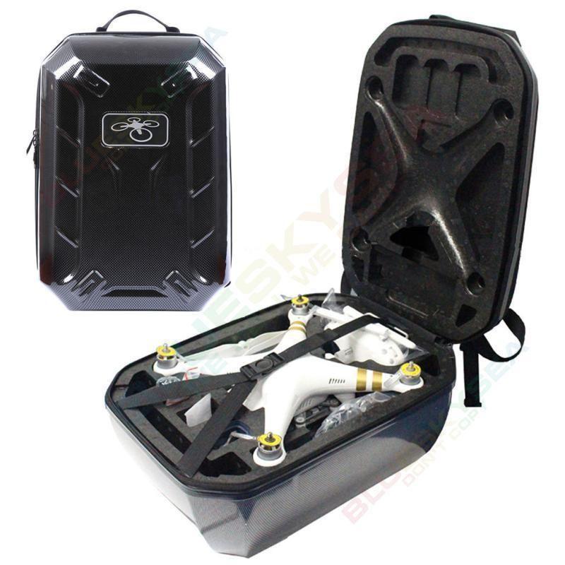 Carbon Fibre Hard Shoulder Carry Bag Case Backpack For DJI Phantom 4 3  Pro Adv 23c628d397a1d