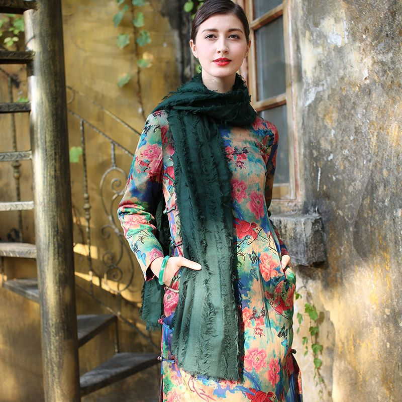 oriental shift dress vintage dress up party cheongsam qipao ...