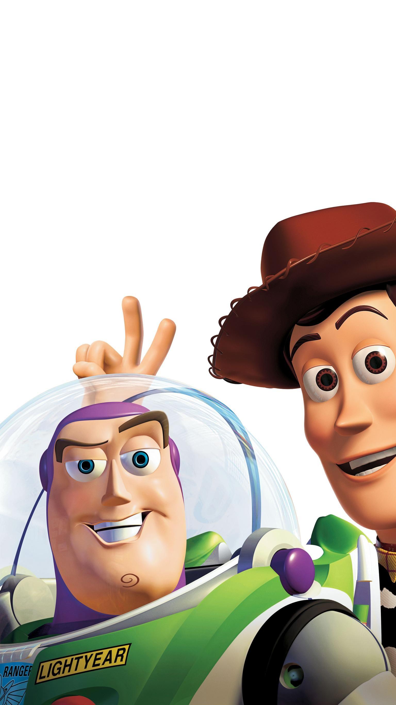Toy Story 2 (1999) Phone Wallpaper Wallpaper di 2019
