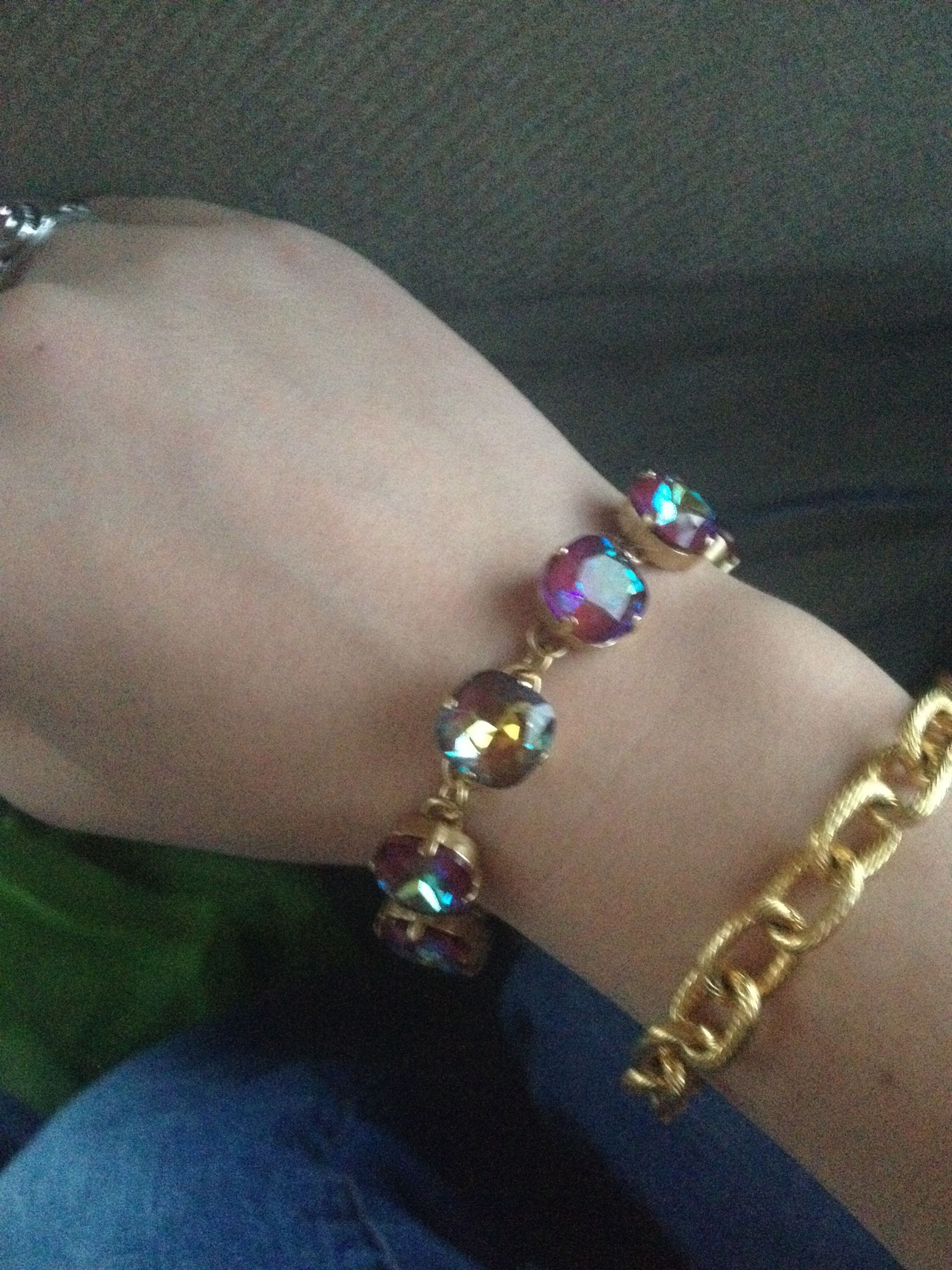 Blue Ruby Catherine Popesco Bracelet