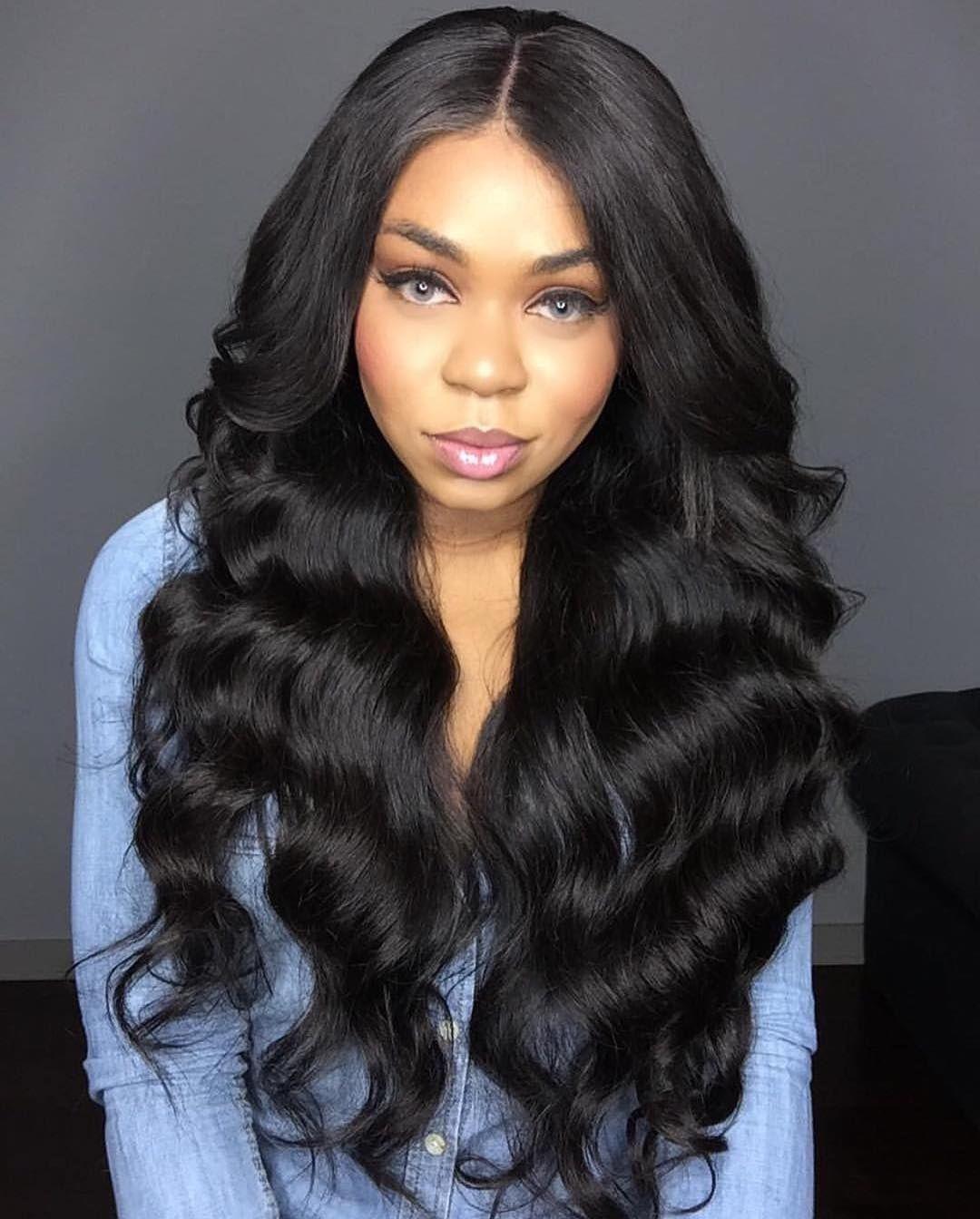 body wave hairstyles 2018 black - wavy haircut