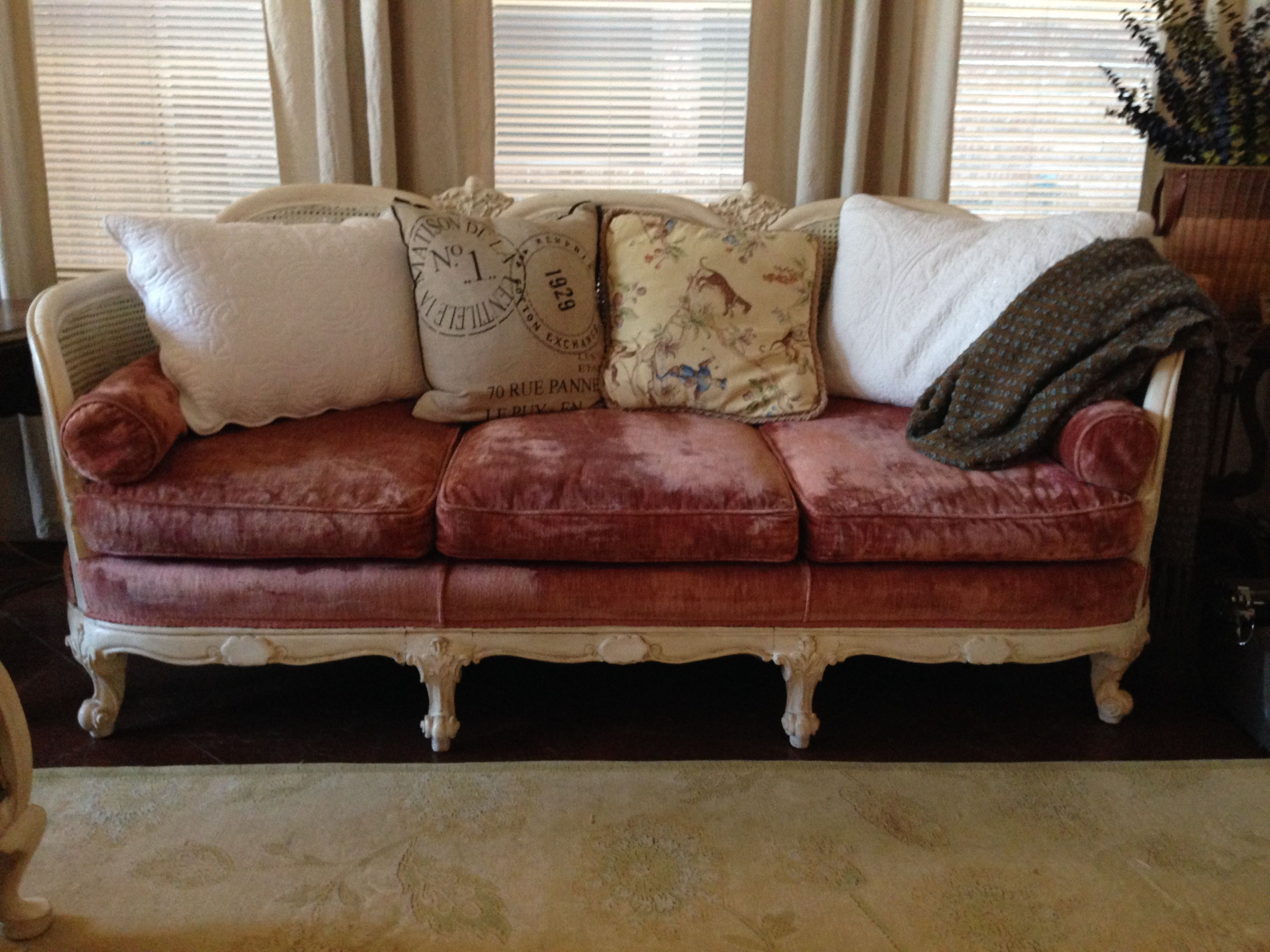 1930 Cane Back Sofa Coffee Table And Set Antique French The Joy Of Having A Vision