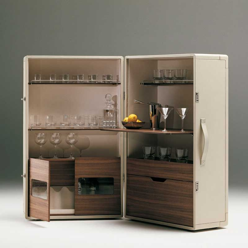 ISIDORO BAR CABINET Designed By Jean-Marie Massaud