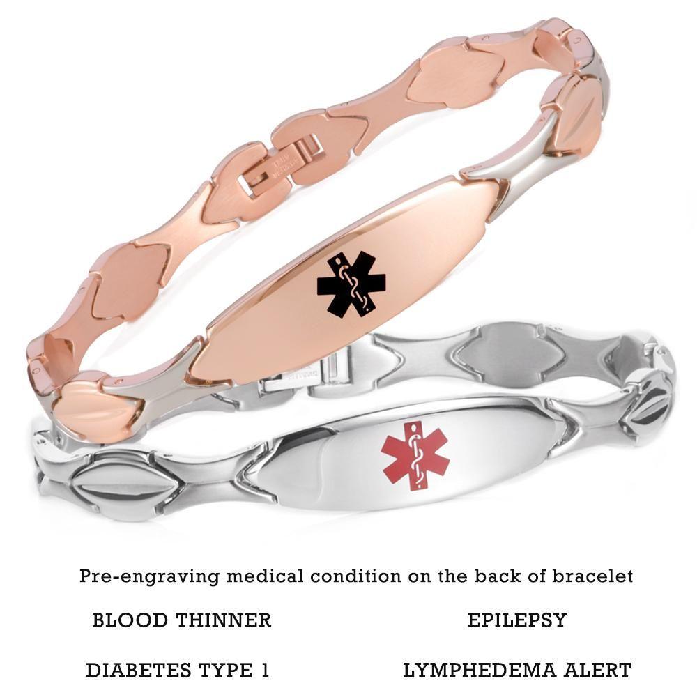 Fashion Medical Id Bracelet