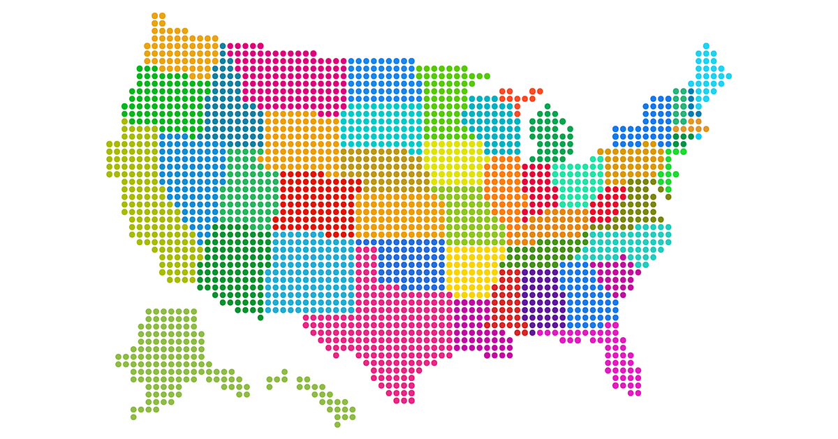 Cool US map graphic from Mentalfloss Most Impressive Thing About