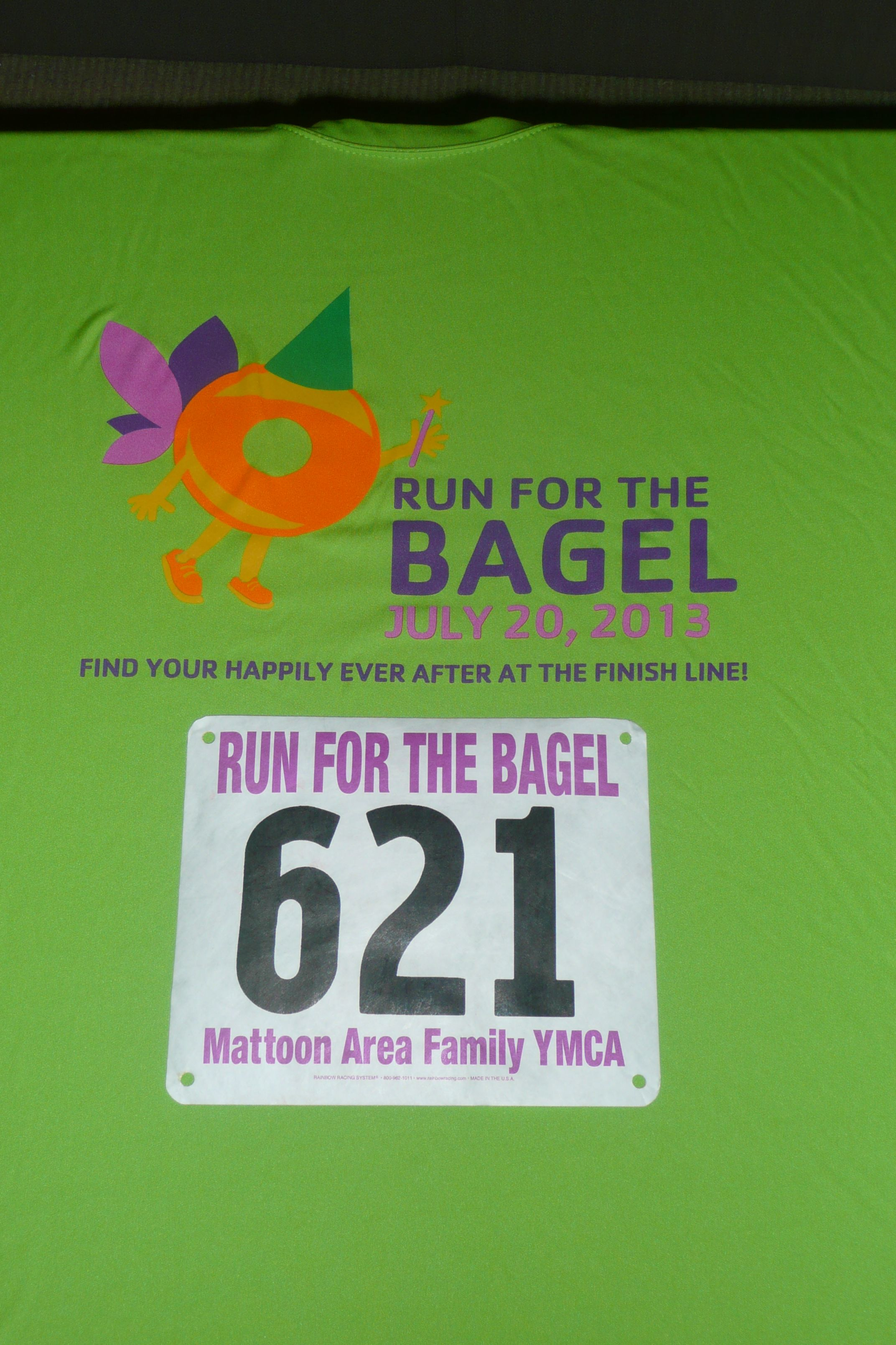 Try To Look Like A Bad Ass Running In ThisRun For The Bagel