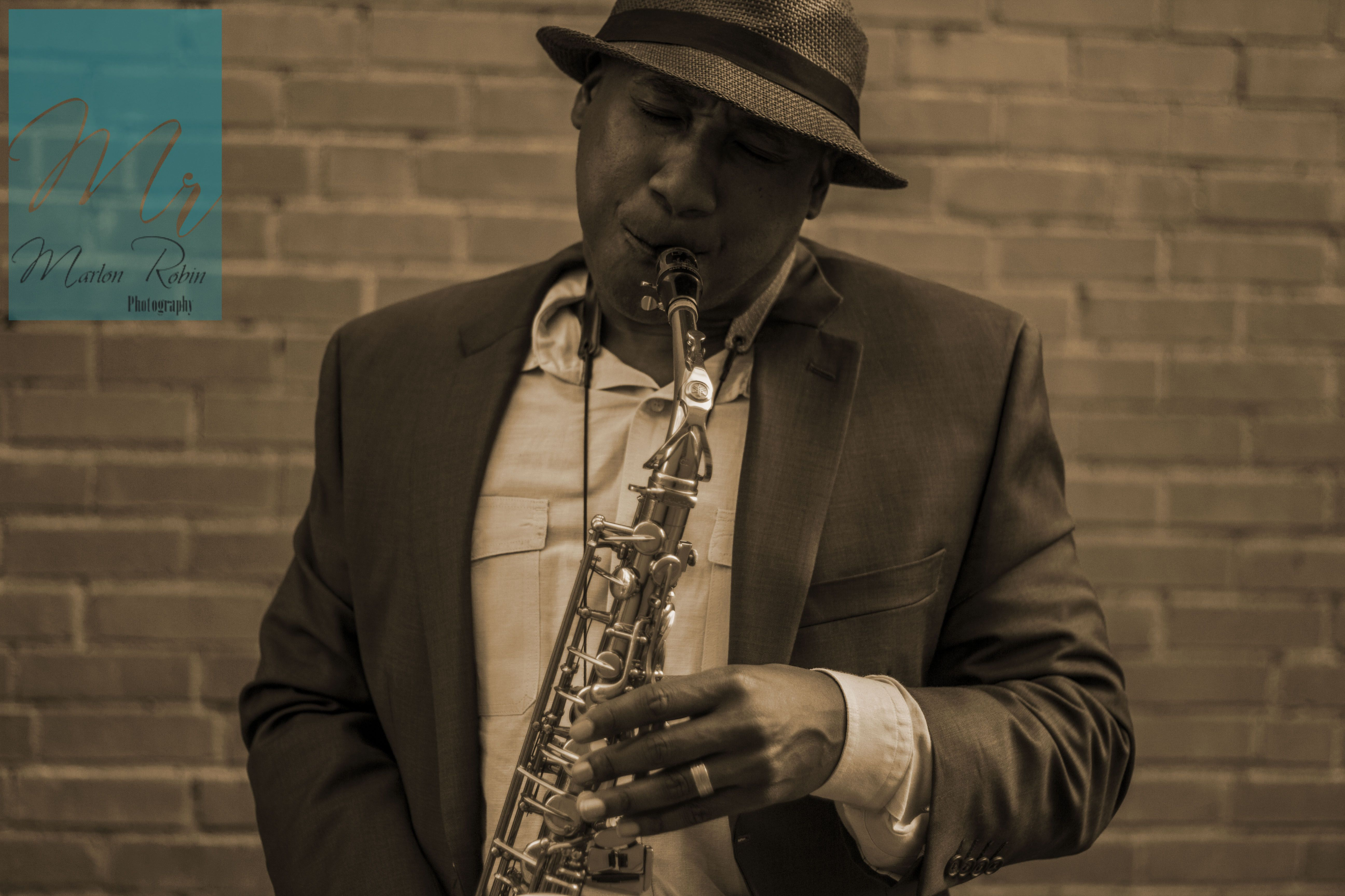 Saxophone portrait. Loved this picture. Gave me a 1930 jazz vibe.