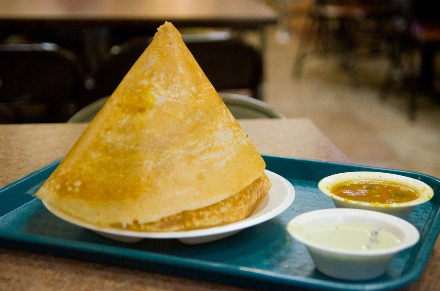 Dosas From The Basement Of A Hindu Temple In Flushing Queens Best Vegetarian Restaurants Serious Eats Food For The Gods