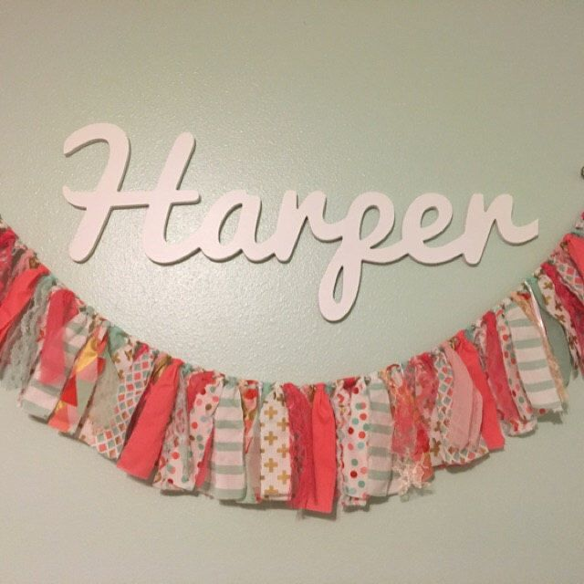 Wooden Name Sign Names Letters For Nursery Decor Wall Hanging Baby Plaque Large