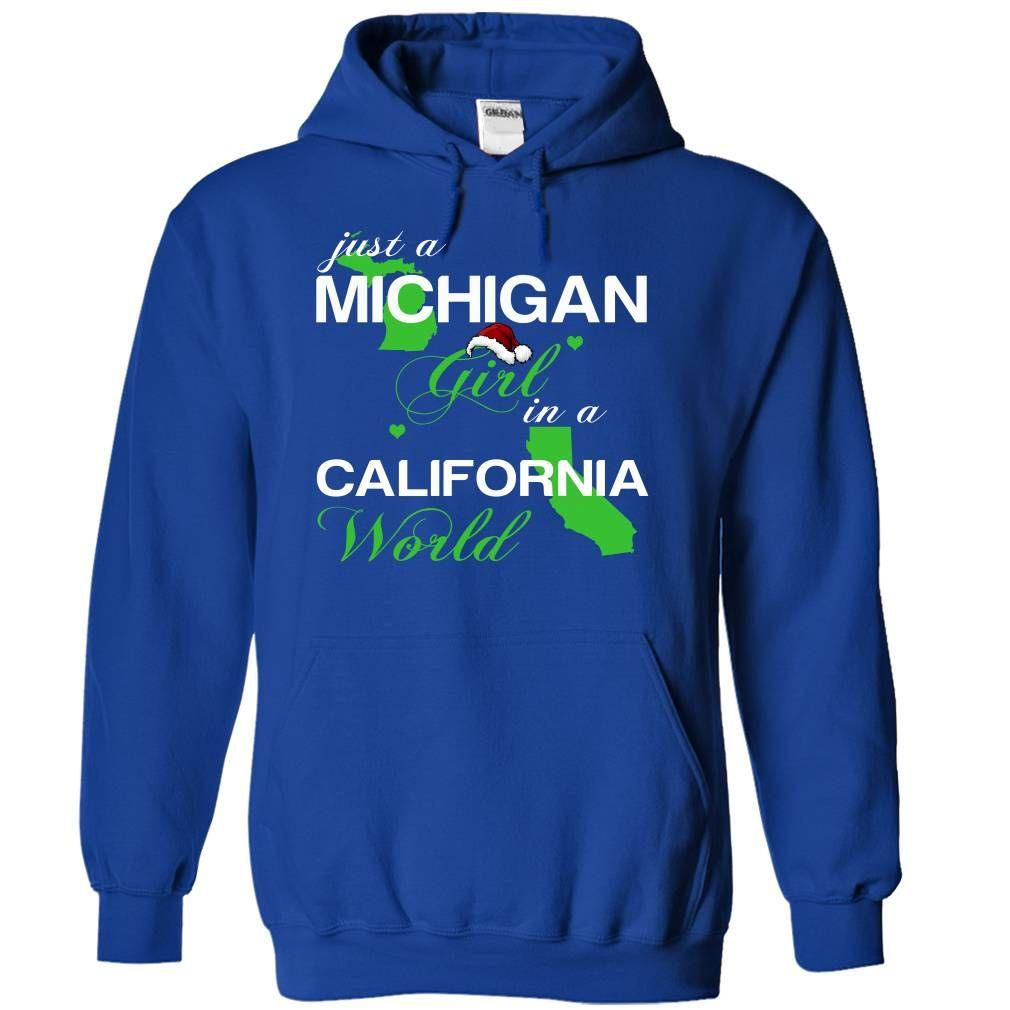 (MINoelXanhChuoi002) Just A Michigan Girl In A California World