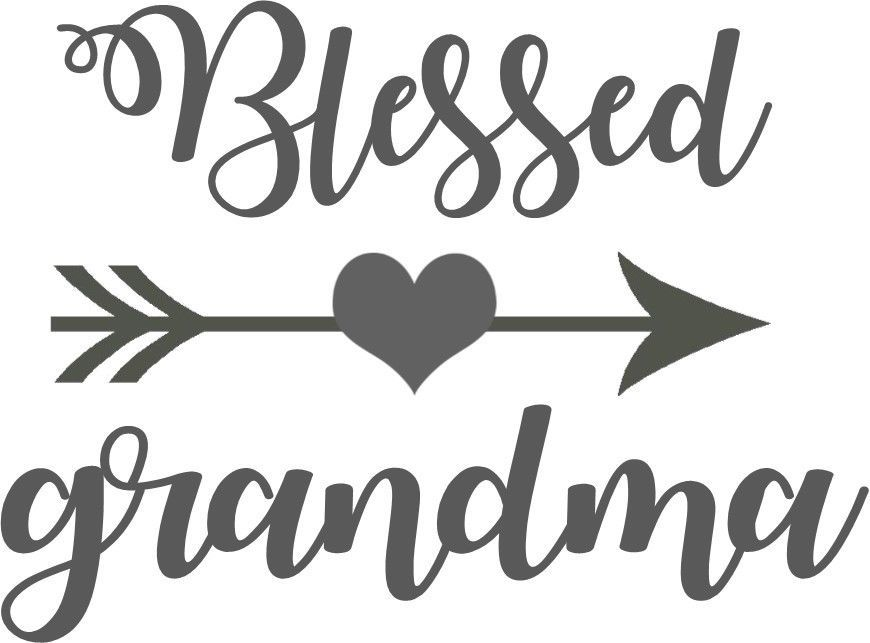 Amazon Com Blessed Grandma Decal For Yeti Cup Car Or Laptop White 3 25 Inches Handmade