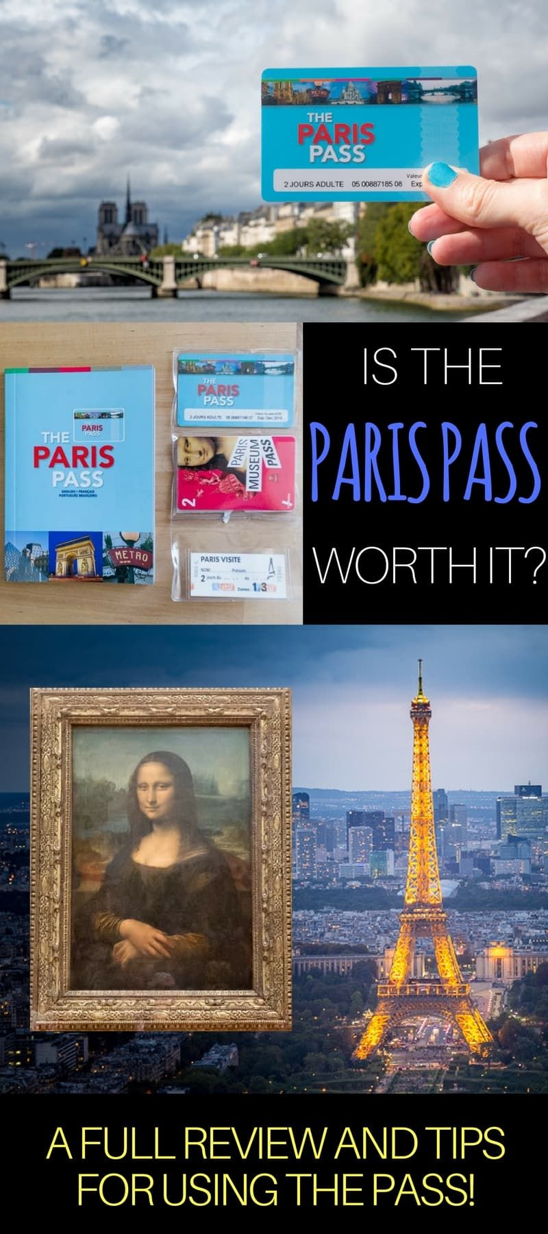 A full review of the Paris Pass and we show you how to do calculations to figure out any potential cost savings with the pass. Includes loads of tips for buying & using the Paris Pass, as well as how to calculate if the Paris Pass is worth it for your trip to Paris France.  #Paris #ParisPass #ParisMuseumPass #Paristips